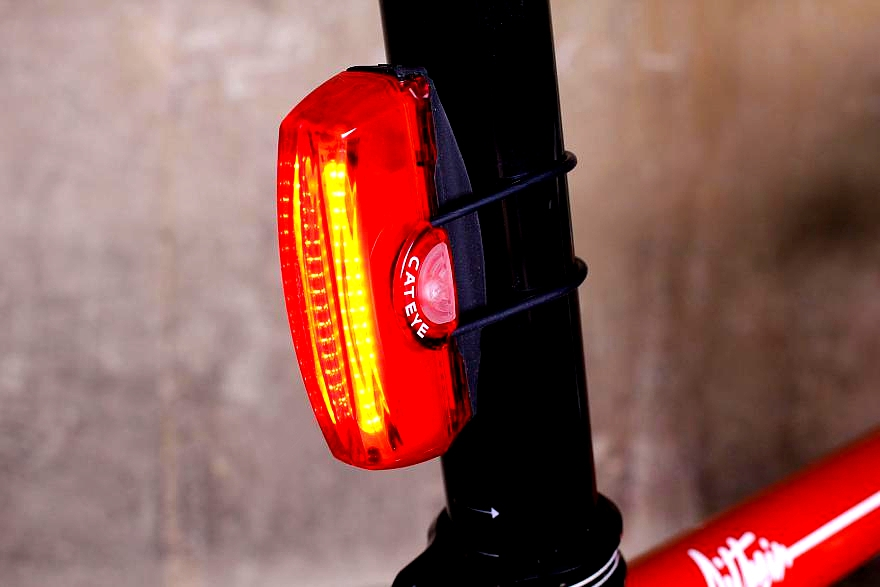Cateye Rapid X3 rear light